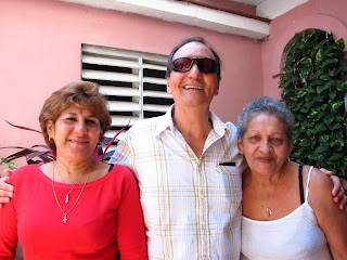 Santiago de Cuba Pedro in the pink house