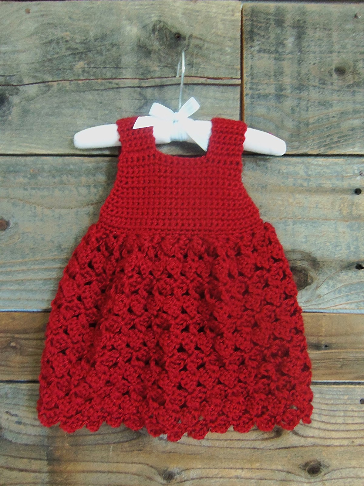 Crochet Baby Winter Dress Pattern : 3squeezes: Crochet Baby Girl Summer/WInter Dresses