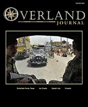 New Mexico Backroads featured in Fall 2015 Issue of Overland Journal
