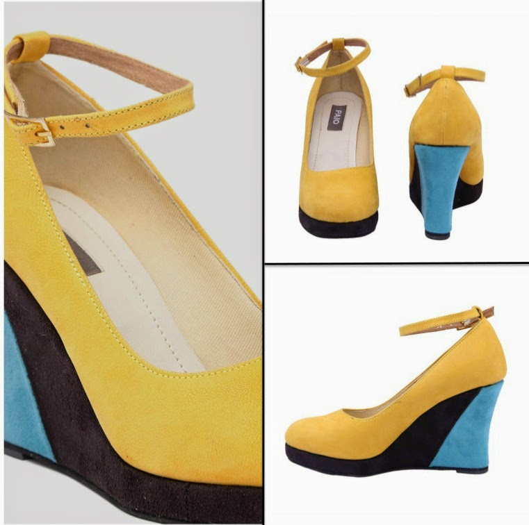 PAIO Yellow Wedges