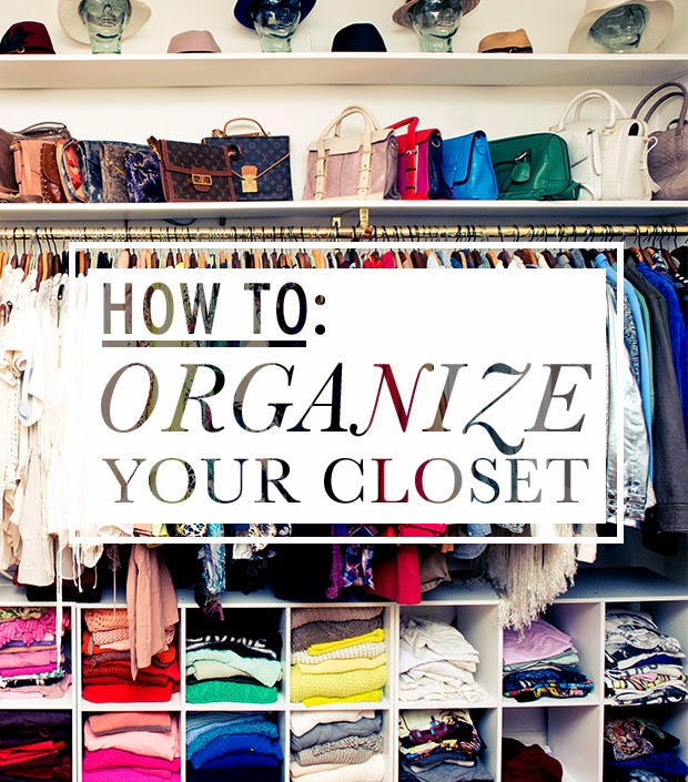 15 pretty diy closet organization ideas ali adores for Ideas to organize closets
