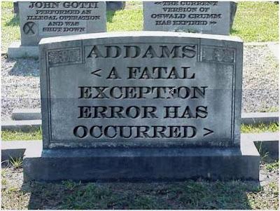Beginilah Kuburan Para Ahli IT