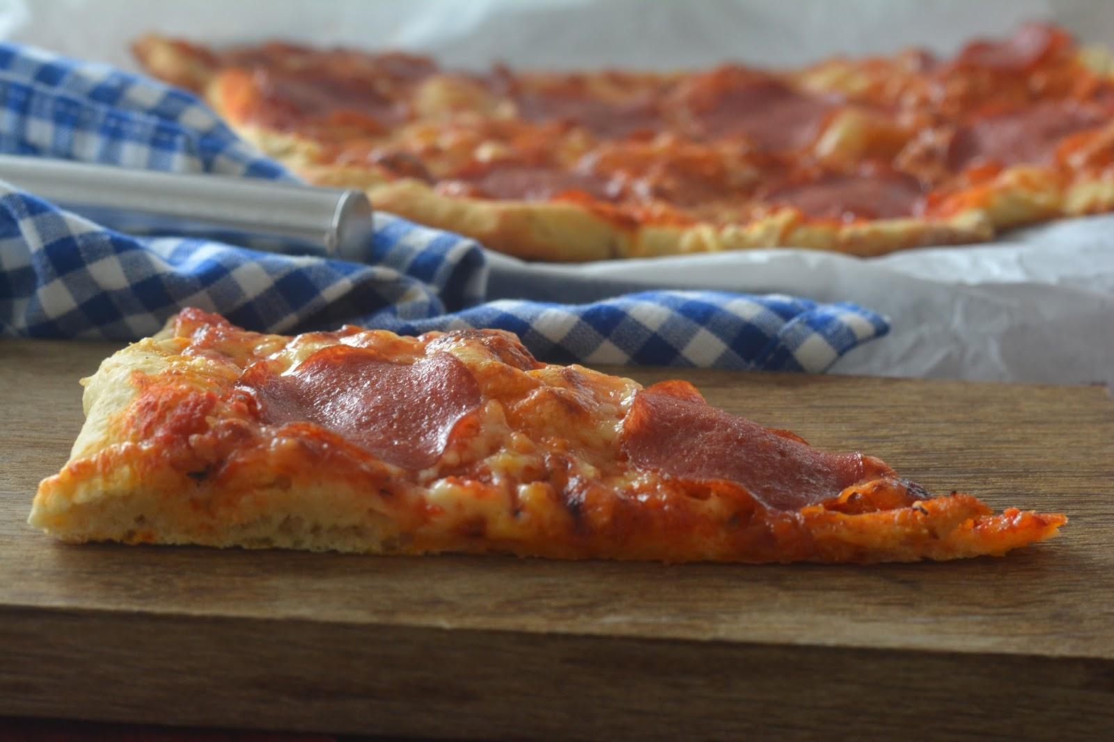 pizza med tørrgjær
