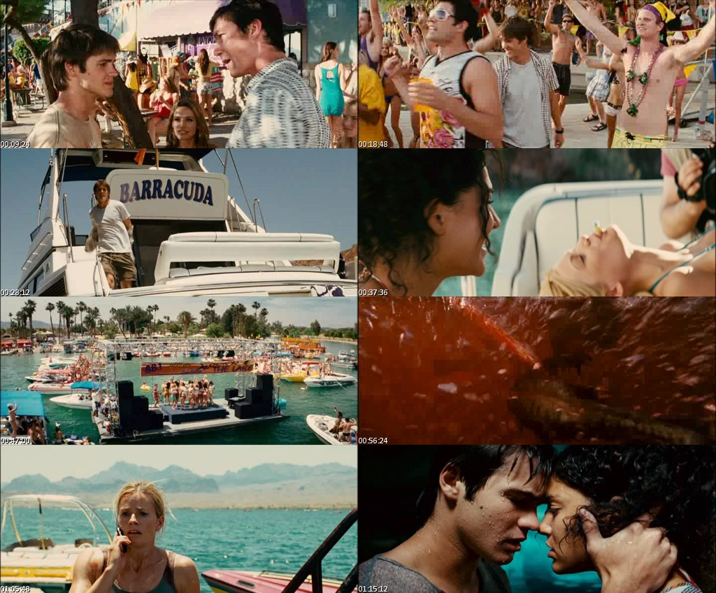 Piranha 3D (2011) [DVDRip] [Español]