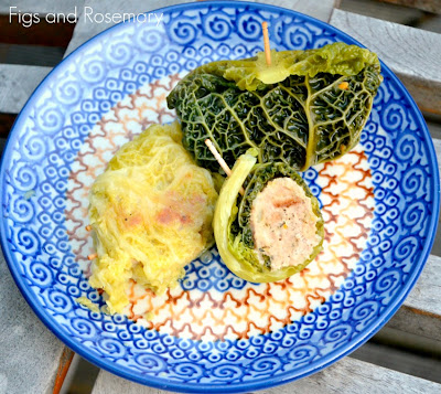 dumplings, cabbage, italian, figs, rosemary