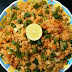 Schezwan  Poha ( Beaten Rice )