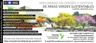 diplomado areas verdes