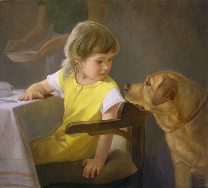 Tatiana Deriy 1973 | Estética pintor de realismo
