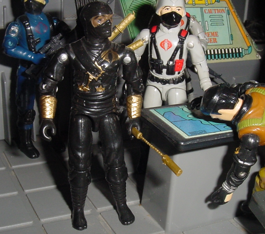 Ninja Ku, Ninja Black, Stormshadow, Argentina, Plastirama, Rare G.I. Joe Figures, 1983 Cobra Trooper, 1984 Stinger Driver, G.I. Joe Headquarters, HQ