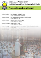 ::Jadual Program YS Rejab-Syawal 1432H::