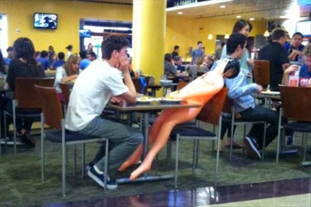 23 personas que no tienen vergüenza! fotos chistosas