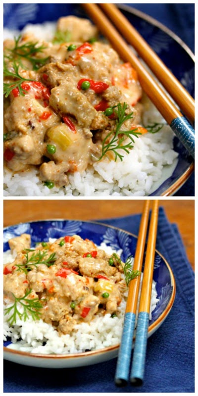 Slow Cooker Thai Red Curry Turkey from The Perfect Pantry | Slow ...