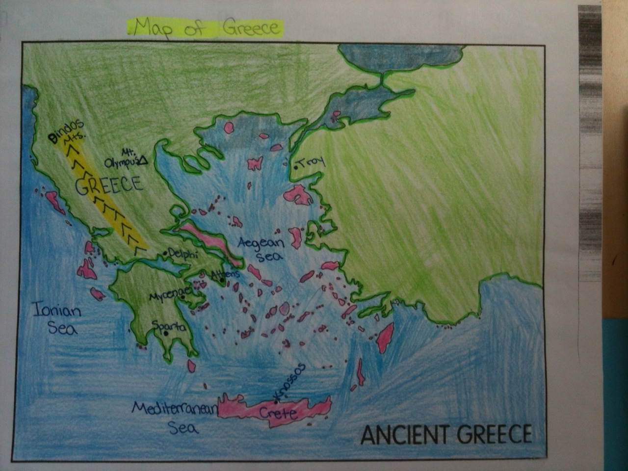 Little Piece Of Tape Ancient Greece Interactive Notebooks