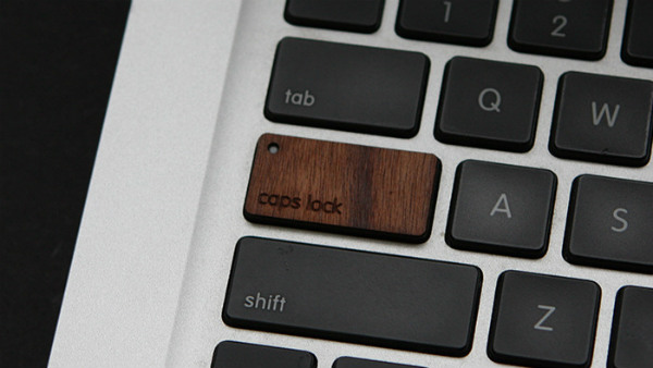 Wooden Keyboard for MacBoo Seen On www.coolpicturegallery.us