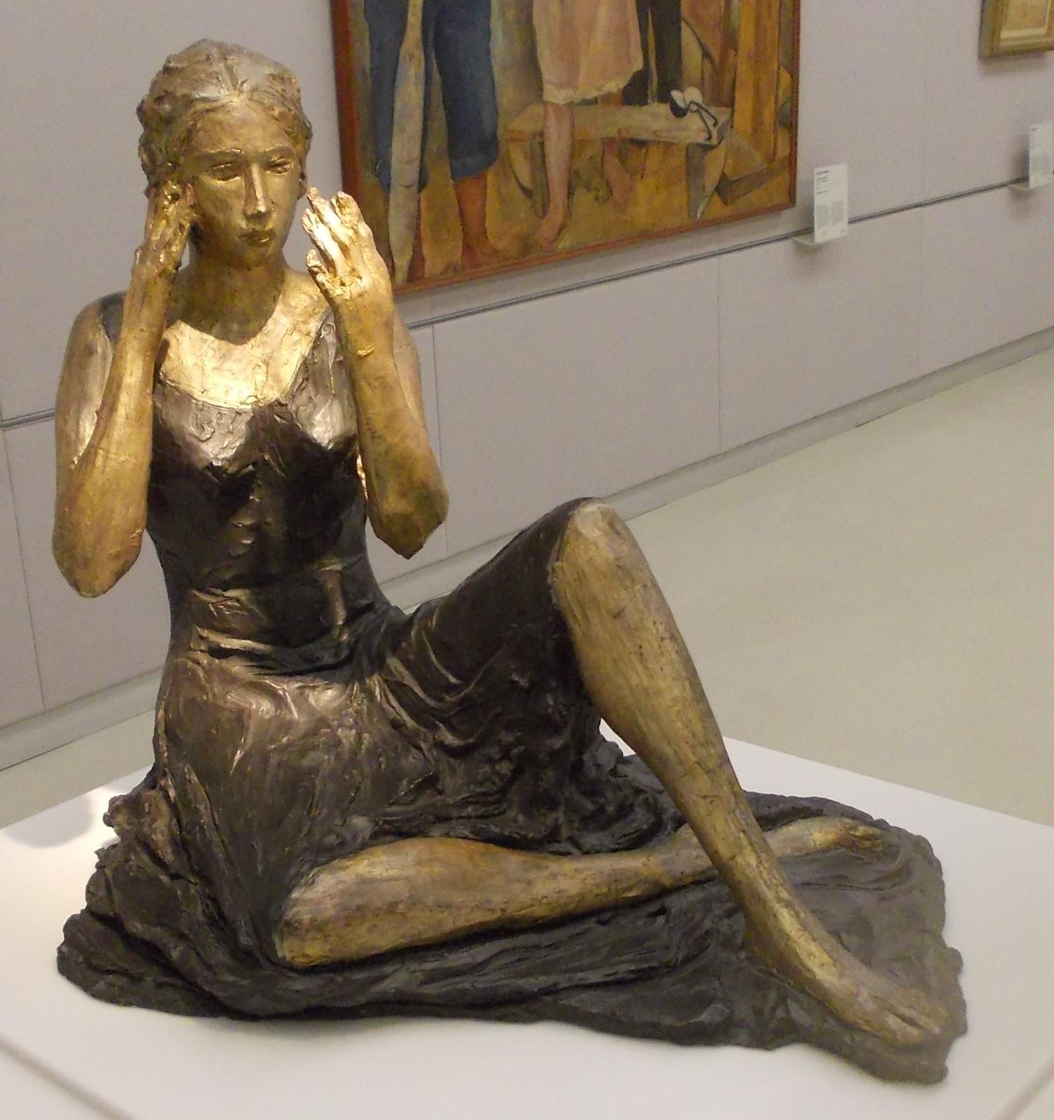 Museo del novecento milano gianni dova bocca 1954 umberto milani valori ascensionali 1953 - Nuda allo specchio ...
