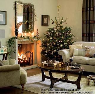 ¿Cómo Decorar la Sala en Navidad? - Living Christmas Natal