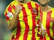 Volem La Senyera a la segona equipació del FCB