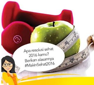 Kuis #MakinSehat2016 Berhadiah Voucher dari Wanita Sehat Indonesia