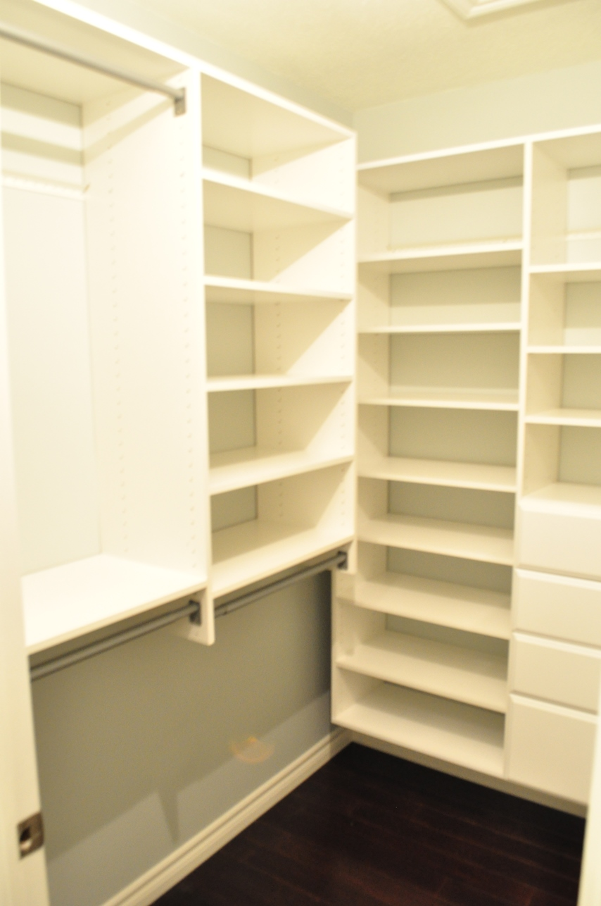 One (DIY) Step At A Time: Dream Closet  Installation