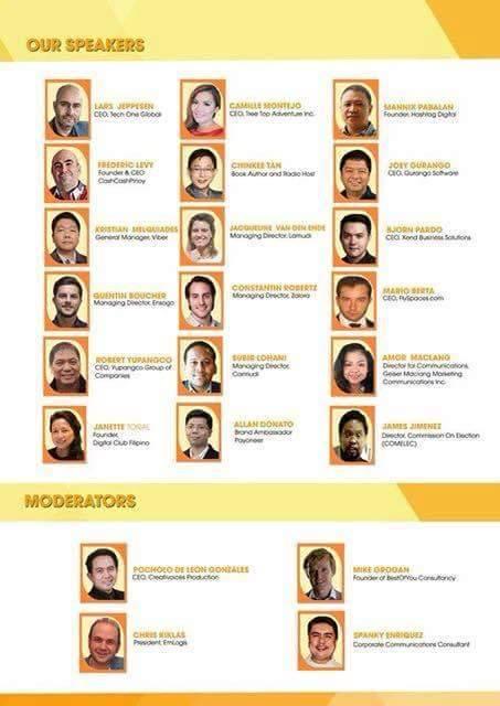 Speakers in the AECoE