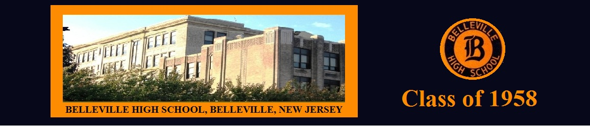 Belleville High School, New Jersey -  Class of 1958