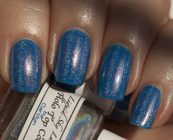 Liquid Sky Lacquer Private Charter + Holo Top Coat