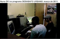 Entrevista de RAP e XARPI no Programa DESABAFO URBANO