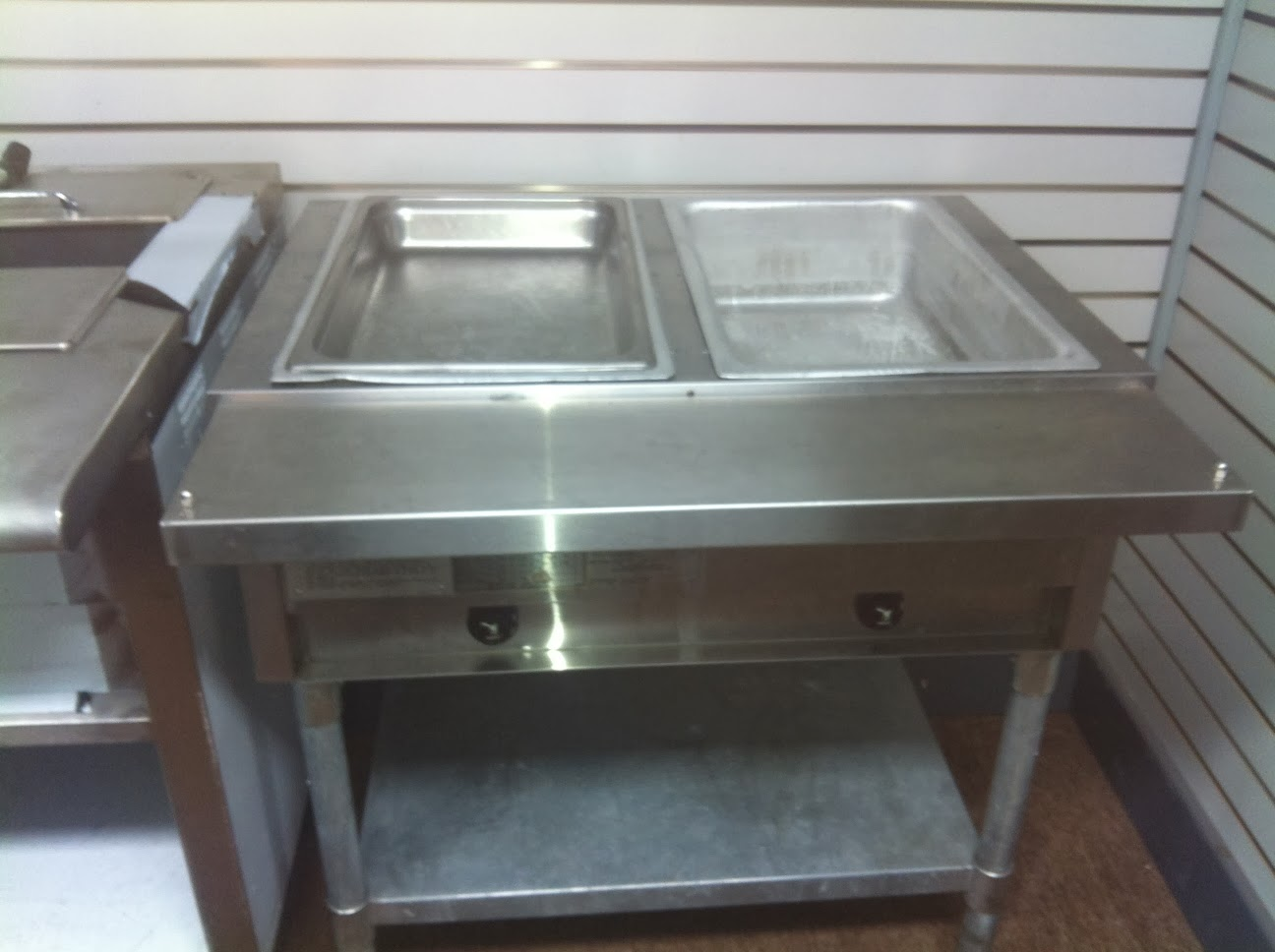 4 Well Electric Steam Table