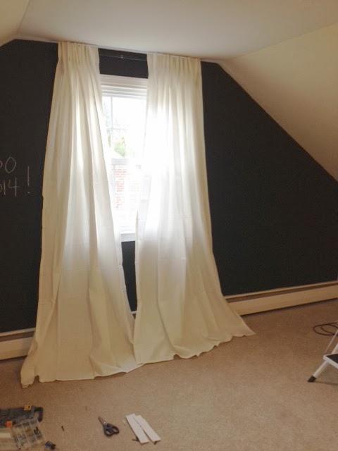 Hem And Her Diy No Sew Pom Pom Curtains