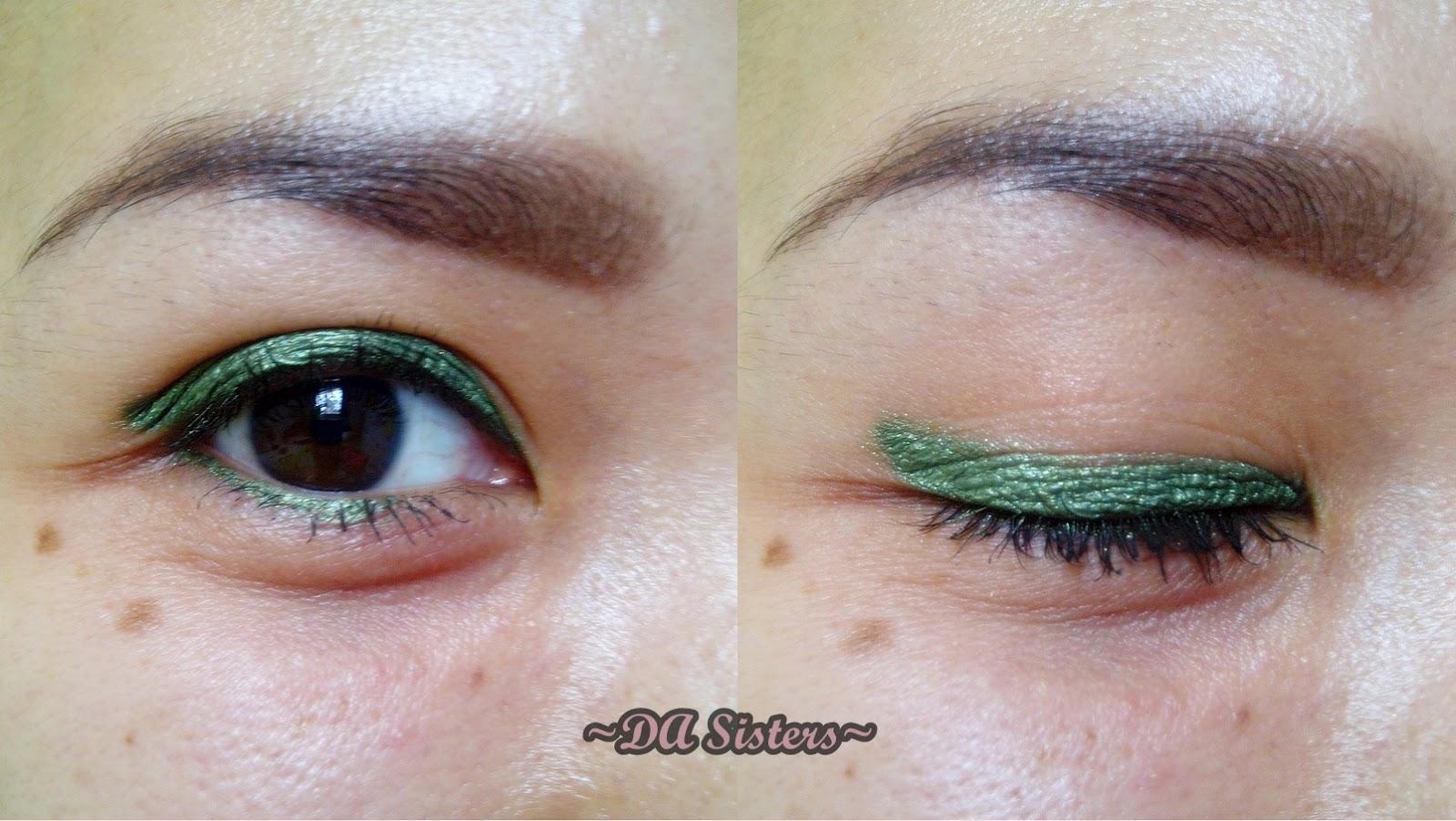 DA Sisters Blog Review EyeLiner Green LTPro Eyeliner