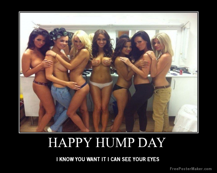 Happy Hump Day Kiddies