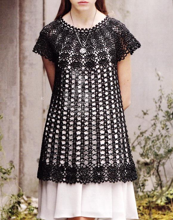Crochet Sweaters: Crochet Tunic Pattern - Beautiful Simple Lace