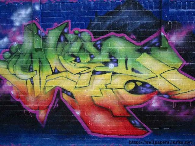graffiti de letras