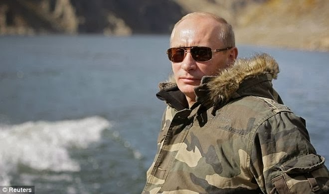 ΤΟ ΠΡΟΣΩΠΟ ΤΗΣ ΕΒΔΟΜΑΔΑΣ: Βλαντιμίρ Πούτιν