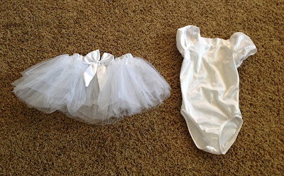 tutu leotard DIY Starfish Costume