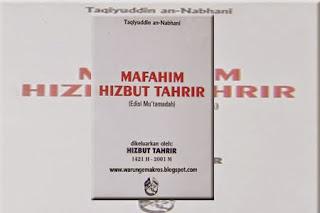 Jual Kitab Mafahim Hizbut Tahrir Bahasa Arab Surabaya