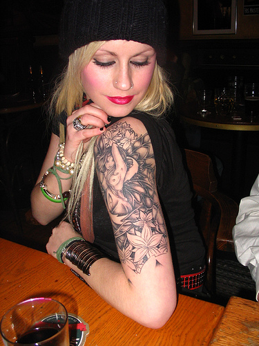 Half sleeve tattoos for women combine post for Tattoo sleeve ideas for women