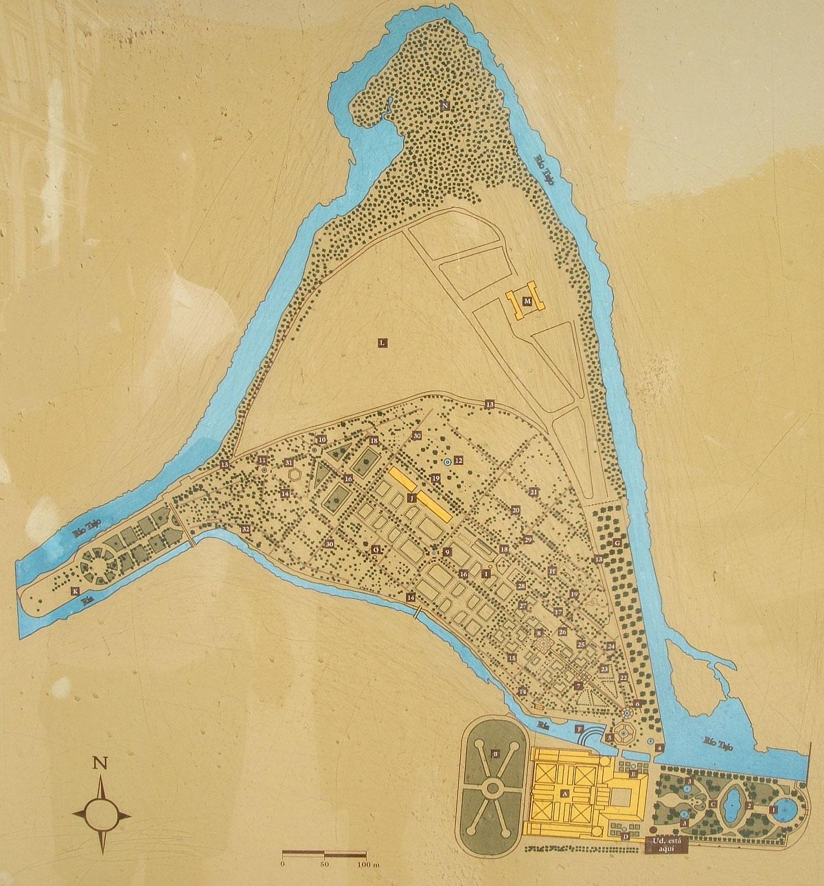 Aranjuez jard n de la isla paisaje libre for El jardin de aranjuez
