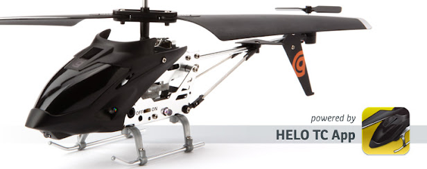 HELO TC Touch Controlled Helicopte: Fly a helicopter with your iPhone, iPod touch or iPad