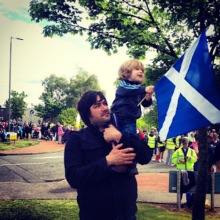 Toddler Saltire Scottish Flag