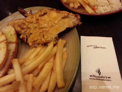 Restoran Nando's Jaya Jusco Wangsa Maju