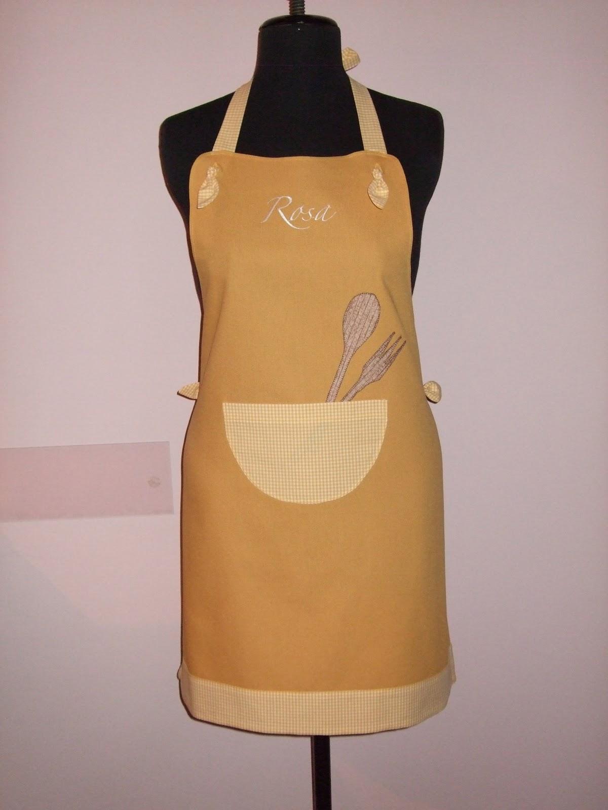 Chicca di stoffa grembiuli da donna realizzati - Grembiuli da cucina ...