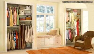 Decora el hogar closets modernos para jovenes y ni os for Closet de madera para dormitorios pequenos