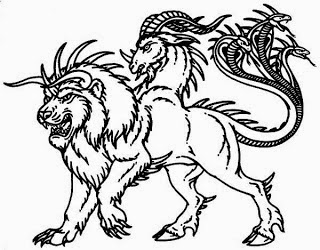 Where band name Chimera comes from - Mythological monster