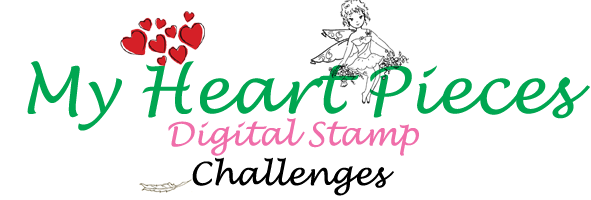 My Heart Pieces Digital Stamp Challenges
