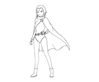 #10 Raven Coloring Page
