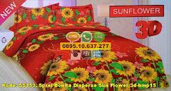 Harga Sprei Bonita Disperse Sun Flower 3d-bmp15 Jual