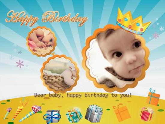 Online Greeting Cards Idea Slim Image – Birthday Card Editing Photo