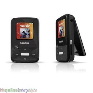 Harga SanDisk Sansa Clip Zip 4GB MP3 Player SDMX22-004G-A57K Mp3 Player Terbaru 2012
