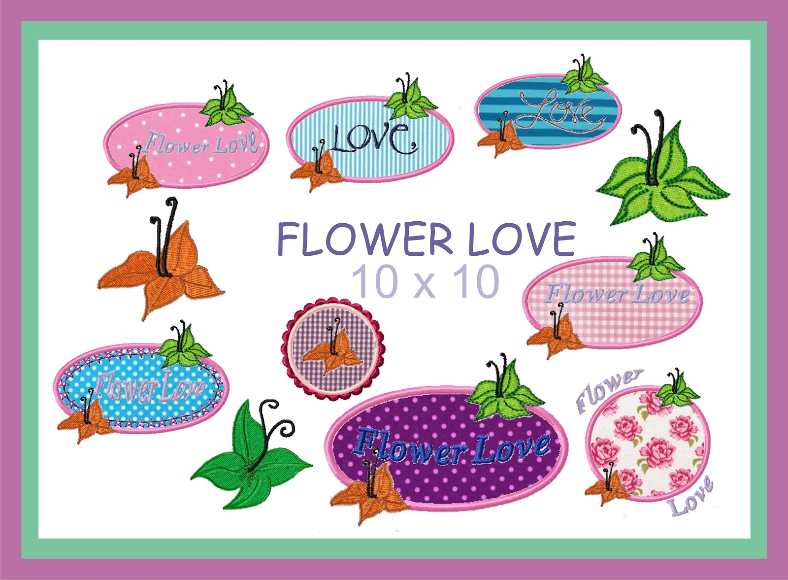 mamalu lu flower love meine erste stickdatei. Black Bedroom Furniture Sets. Home Design Ideas